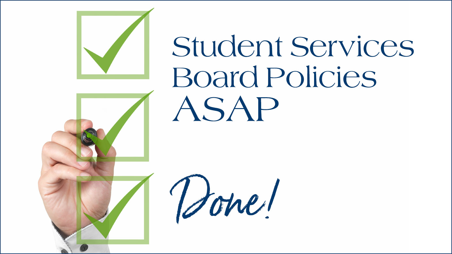 Student Services Board Policies ASAP
